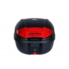 Kufr zadní CAPIRELLI o objemu 30l, černočervený